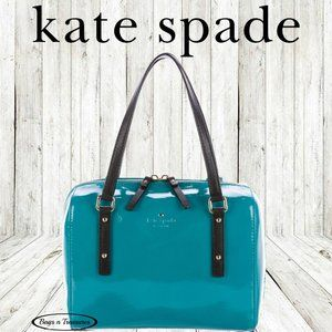 Kate Spade Peacock Small Satchel in Peacock Blue